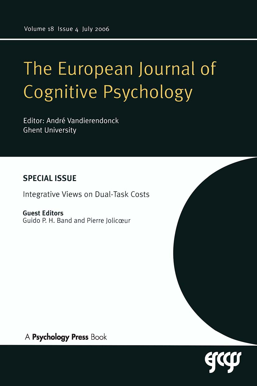 Integrative Views on Dual-task Costs: A Special Issue of the European Journal of Cognitive Psychology book cover