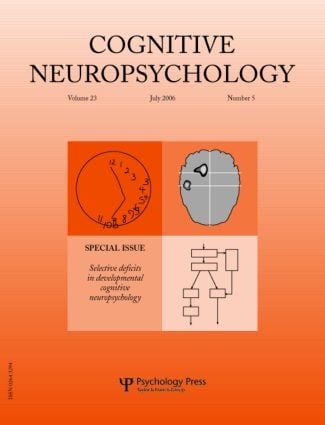 Selective Deficits in Developmental Cognitive Neuropsychology: A Special Issue of Cognitive Neuropsychology (Paperback) book cover