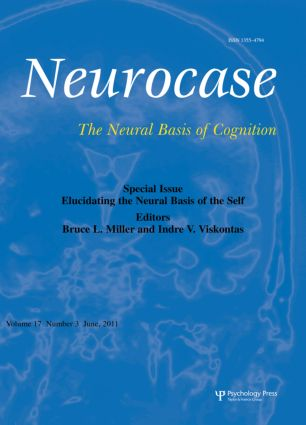 Elucidating the Neural Basis of the Self: A Special Issue of Neurocase book cover