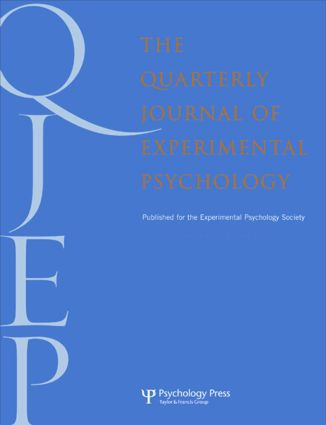 Grounding Cognition in Perception and Action: A Special Issue of the Quarterly Journal of Experimental Psychology book cover