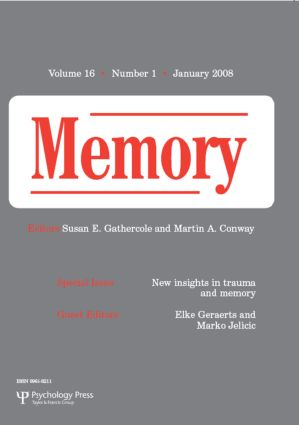 New Insights in Trauma and Memory: A Special Issue of Memory (Paperback) book cover