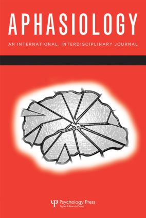 37th Clinical Aphasiology Conference: A Special Issue of Aphasiology (Paperback) book cover