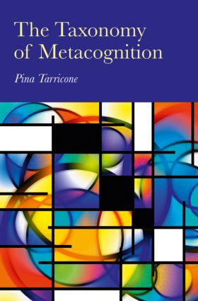 The Taxonomy of Metacognition (Hardback) book cover