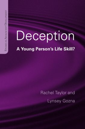 Deception: A Young Person's Life Skill? (Hardback) book cover