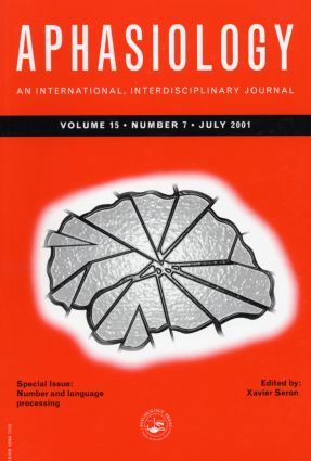 Number and Language Processing: A Special Issue of Aphasiology book cover