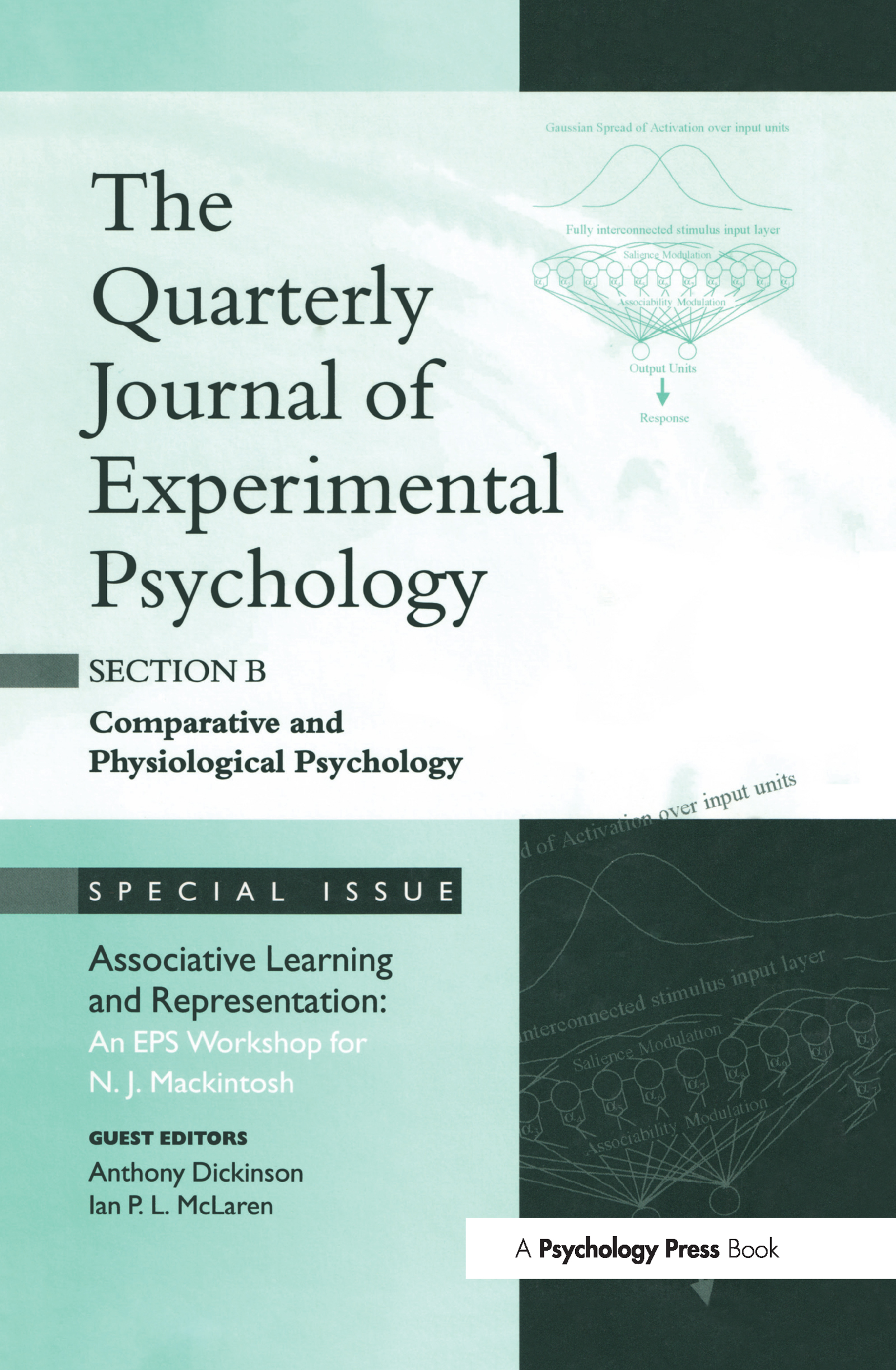 Associative Learning and Representation: An EPS Workshop for N.J. Mackintosh: A Special Issue of the Quarterly Journal of Experimental Psychology, Section B (Hardback) book cover