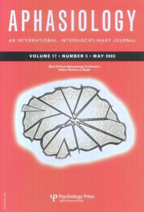 32nd Annual Clinical Aphasiology Conference: A Special Issue of Aphasiology (Paperback) book cover