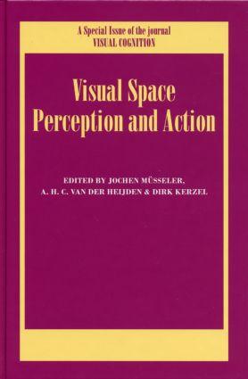 Visual Space Perception and Action: A Special Issue of Visual Cognition (Hardback) book cover