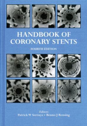 Handbook of Coronary Stents: 4th Edition (Hardback) book cover