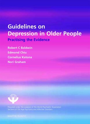 Guidelines on Depression in Older People