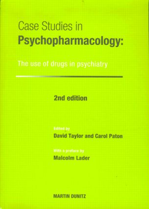 Case Studies in Psychopharmacology: The Use of Drugs in Psychiatry, Second Edition, 2nd Edition (Paperback) book cover
