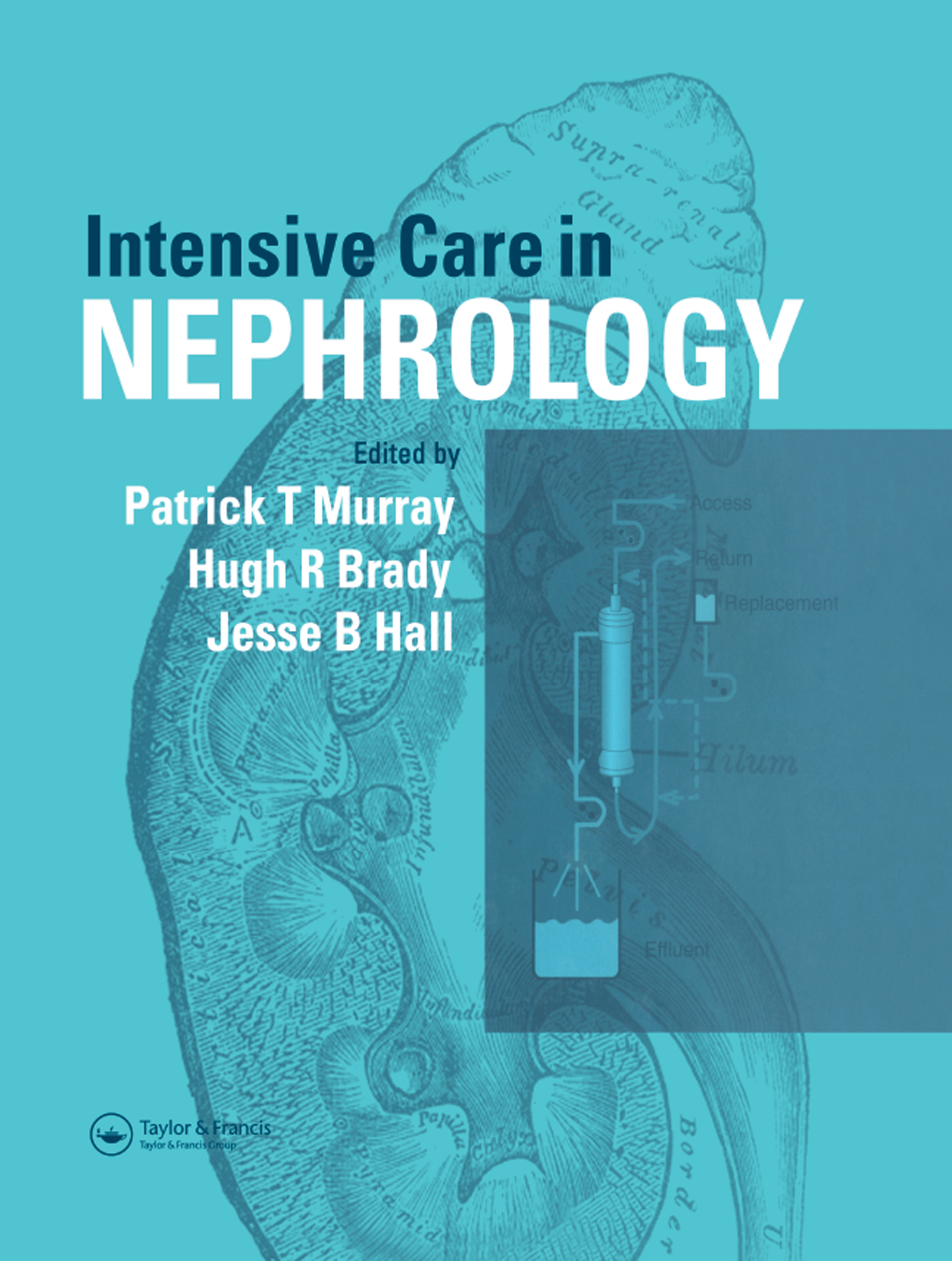 Intensive Care in Nephrology: 1st Edition (Hardback) book cover