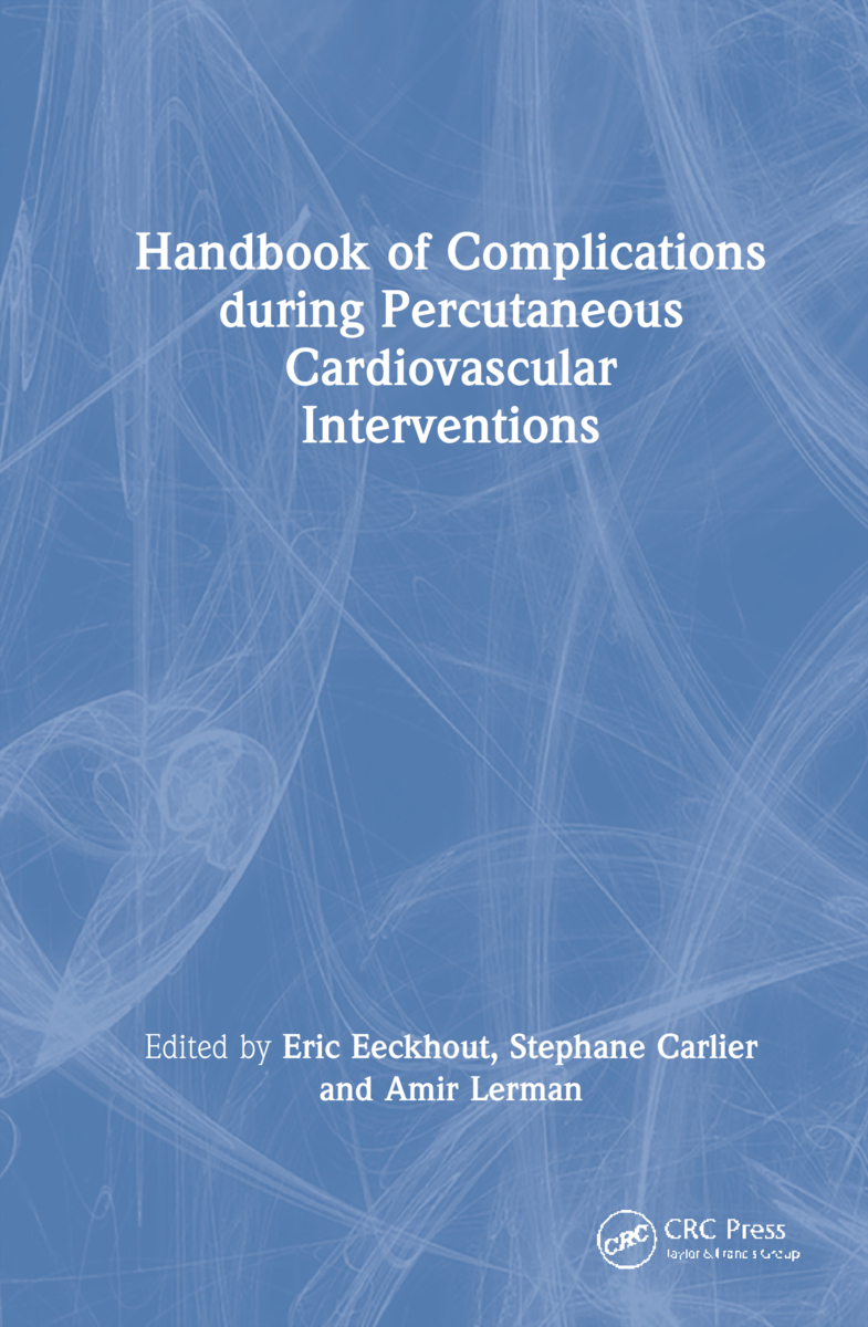 Handbook of Complications during Percutaneous Cardiovascular Interventions: 1st Edition (Hardback) book cover