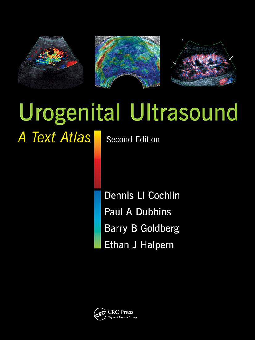 Urogenital Ultrasound: A Text Atlas, 2nd Edition (Hardback) book cover