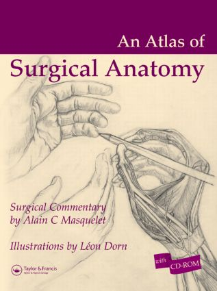 Atlas of Surgical Anatomy: 1st Edition (Hardback) book cover