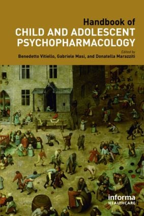 Handbook of Child and Adolescent Psychopharmacology: 1st Edition (Hardback) book cover