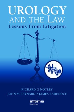 Urology and the Law: Lessons from Litigation (e-Book) book cover