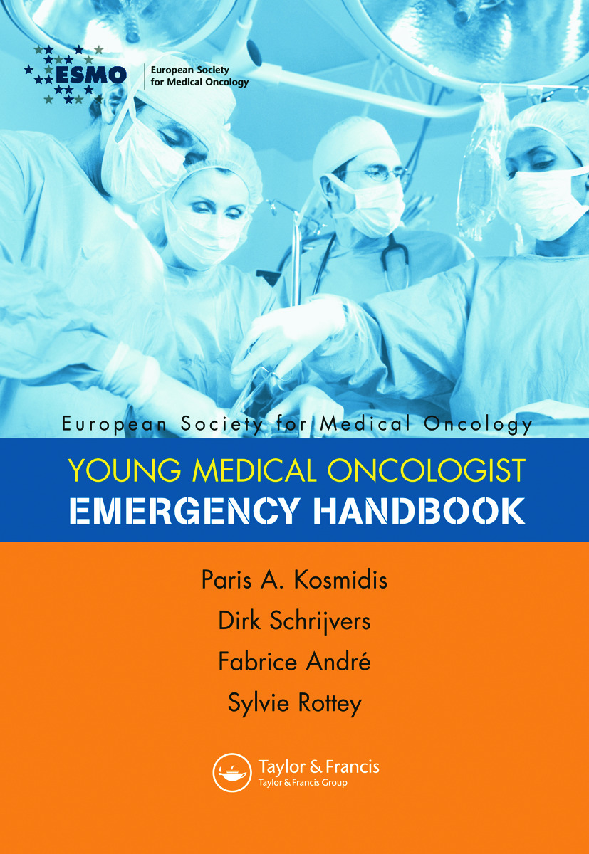 ESMO Handbook of Oncological Emergencies book cover