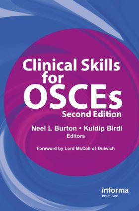 Clinical Skills for OSCEs: 2nd Edition (Hardback) book cover