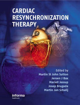 Cardiac Resynchronization Therapy (Hardback) book cover