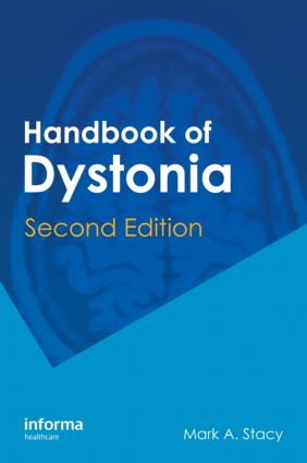 Handbook of Dystonia: 2nd Edition (Hardback) book cover