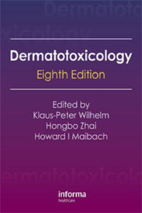 Dermatotoxicology, Eighth Edition: 8th Edition (Hardback) book cover