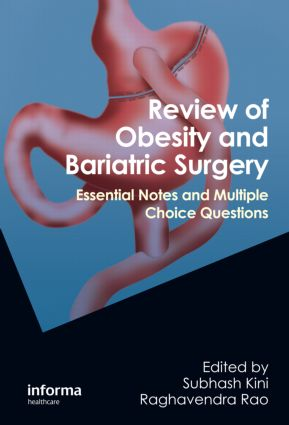 Review of Obesity and Bariatric Surgery: Essential Notes and Multiple Choice Questions (Paperback) book cover