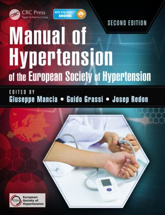 Manual of Hypertension of the European Society of Hypertension: 2nd Edition (Hardback) book cover