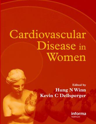 Cardiovascular Disease in Women: 1st Edition (Hardback) book cover