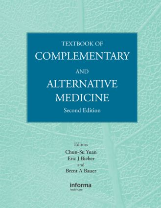 Textbook of Complementary and Alternative Medicine: 2nd Edition (Hardback) book cover