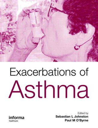 Exacerbations of Asthma (Hardback) book cover