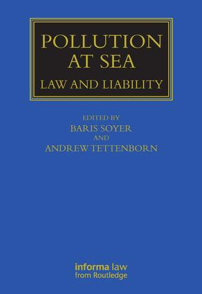 Pollution at Sea: Law and Liability book cover