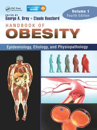 Handbook of Obesity -- Volume 1: Epidemiology, Etiology, and Physiopathology, Third Edition, 3rd Edition (Pack - Book and Ebook) book cover