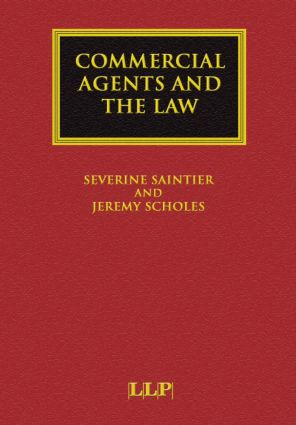 Commercial Agents and the Law book cover