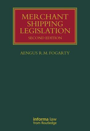 Merchant Shipping Legislation book cover