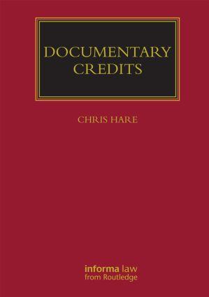 Documentary Credits (Hardback) book cover