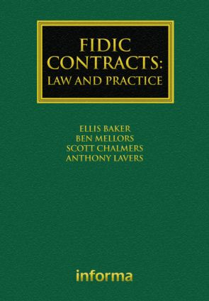 FIDIC Contracts: Law and Practice book cover