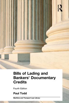Bills of Lading and Bankers' Documentary Credits book cover