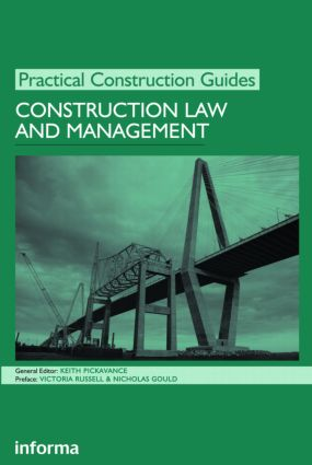 Construction Law and Management: 1st Edition (Paperback) book cover