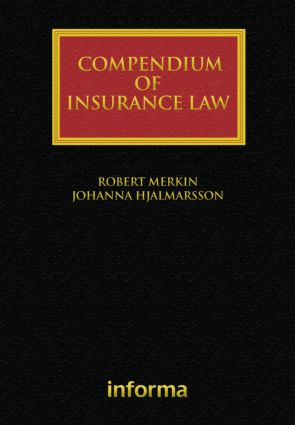 Compendium of Insurance Law (Hardback) book cover