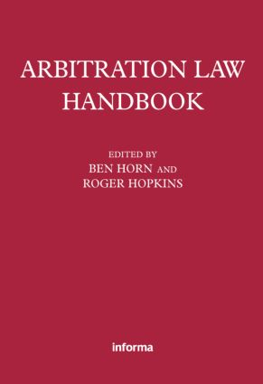 Arbitration Law Handbook (Paperback) book cover
