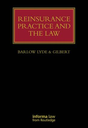 Reinsurance Practice and the Law book cover