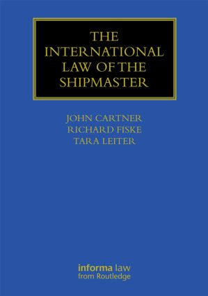The International Law of the Shipmaster book cover