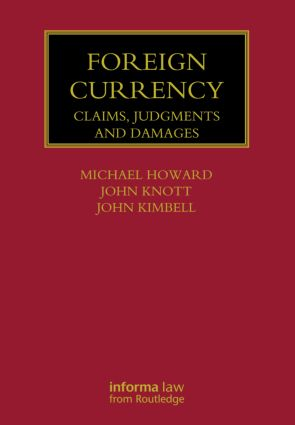 Foreign Currency: Claims, Judgments and Damages, 1st Edition (Hardback) book cover