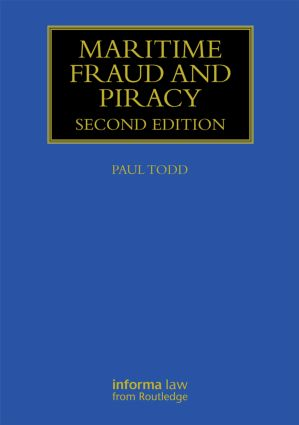 Maritime Fraud and Piracy book cover
