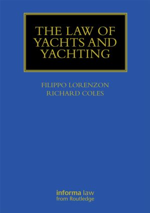Law of Yachts & Yachting book cover
