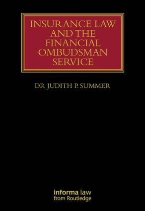 Insurance Law and the Financial Ombudsman Service (Hardback) book cover