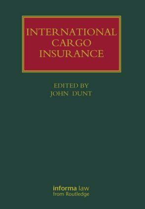 International Cargo Insurance (Hardback) book cover