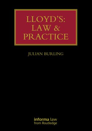 Lloyd's: Law and Practice (Hardback) book cover