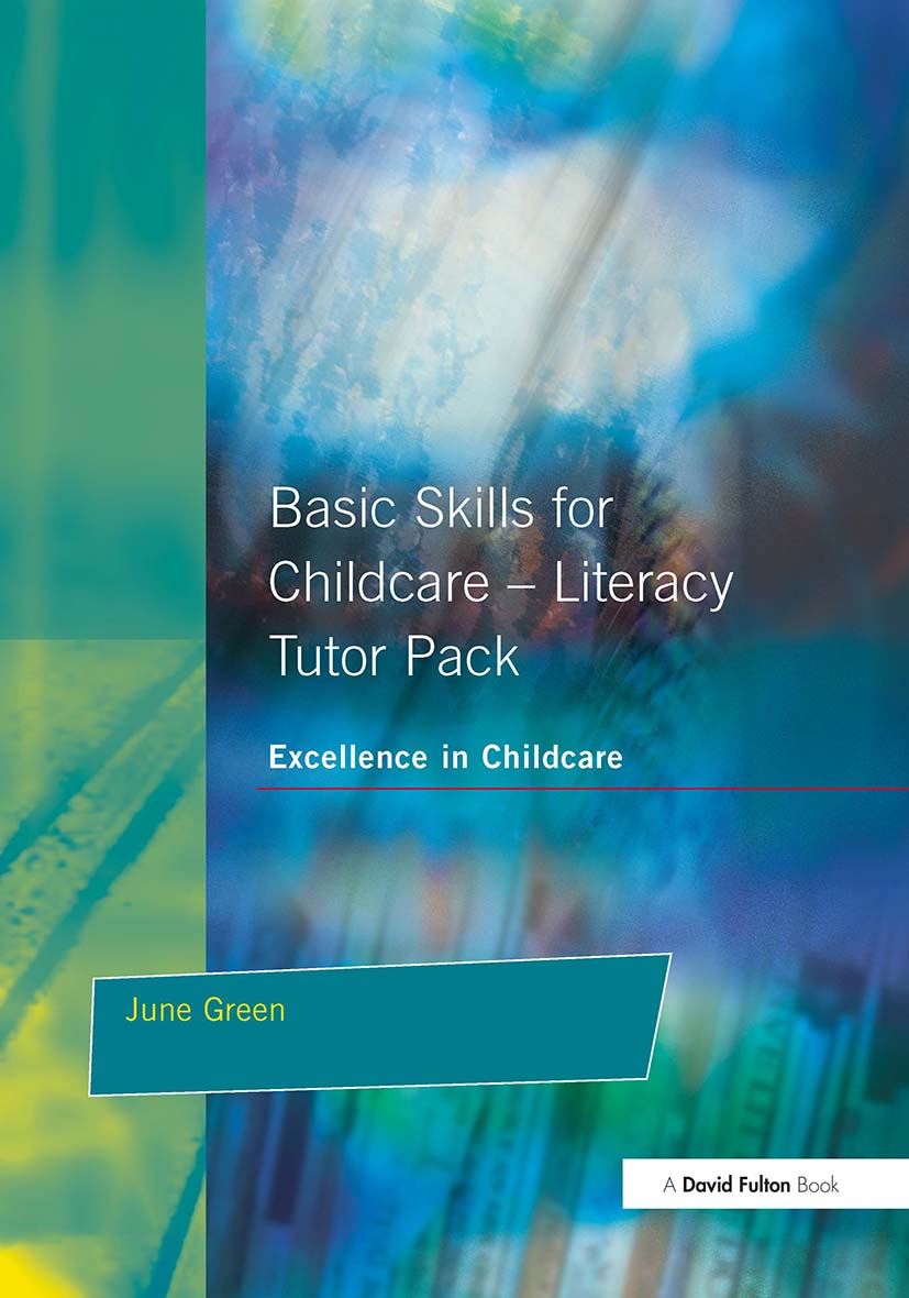 Basic Skills for Childcare - Literacy: Tutor Pack, 1st Edition (Paperback) book cover